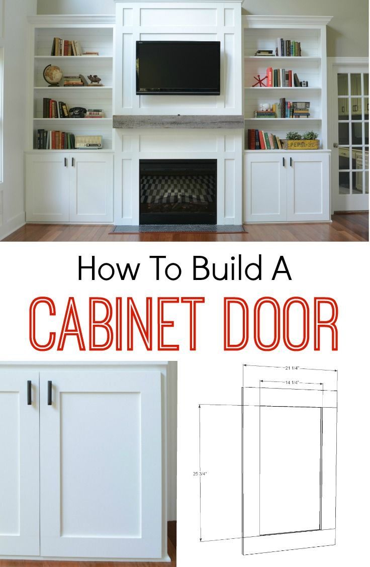 diy cabinet doors kitchen cabinets doors How to Build a Cabinet Door