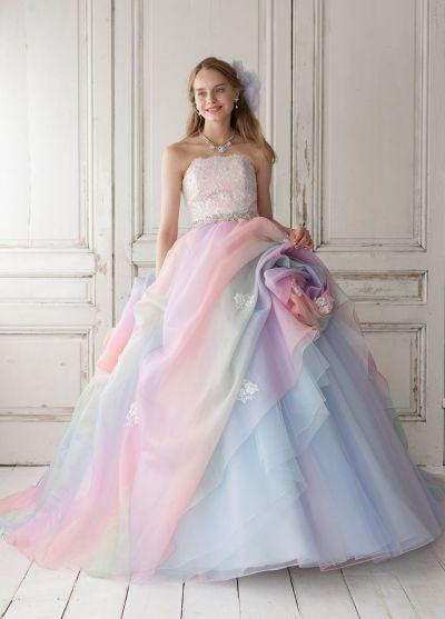 25+ best ideas about Pastel Wedding Dresses on Pinterest ...