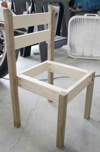 kitchen chairs kitchen table chairs set Building table and chair set out of wood scraps