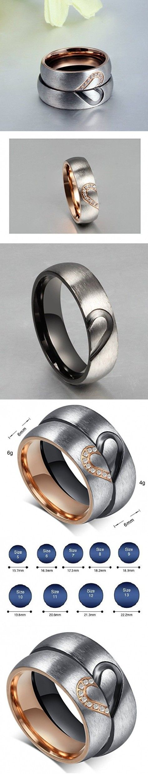 women's wedding bands target wedding bands Aegean Jewelry Titanium Couple Fashion Wedding Band Ring We Are a Perfect Match Love
