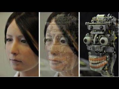 Meet Geminoid-F, a disturbingly lifelike female robot, created by Osaka University's Professor ...