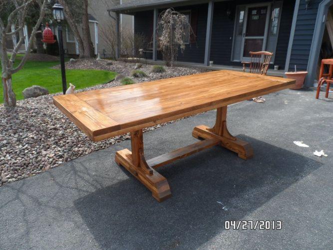 trestle tables diy kitchen table plans trestle farm dining table plans Google Search