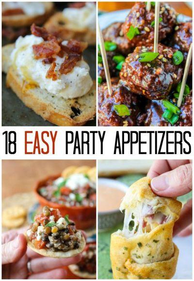 De 25+ bedste idéer inden for Easy appetizers for parties på Pinterest | Party dips