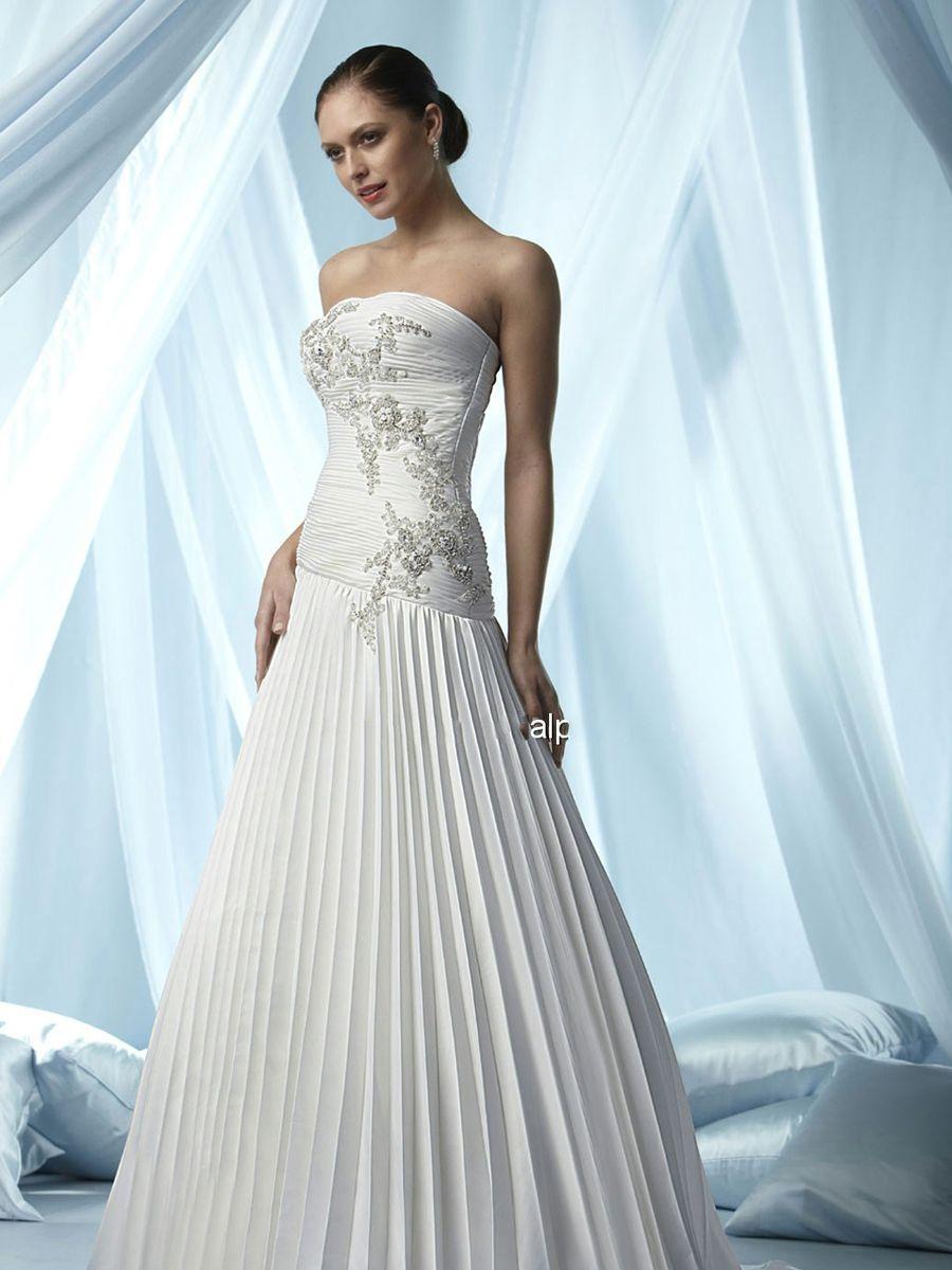wedding dress skirt Pleated Wedding Gowns Ocodea com