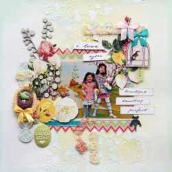 Websters Pages Modern Romance Layout by Dt Iris Babao Uy 2014