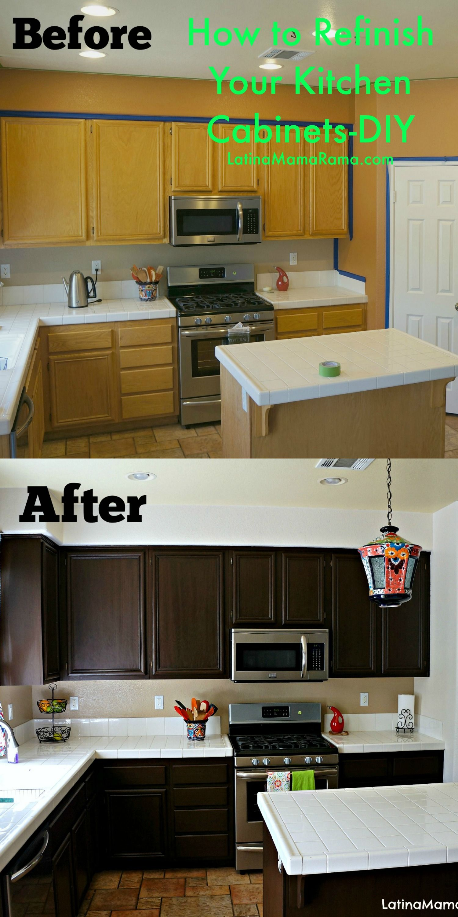 cheap kitchen cabinets How to Refinish Your Kitchen Cabinets