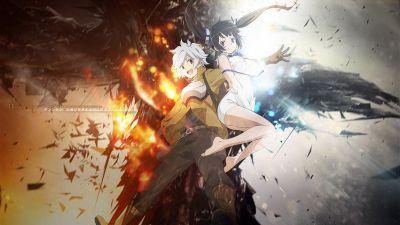 Danmachi Wallpaper - Can Someone Please Remove The Text =] : Animewallpaper