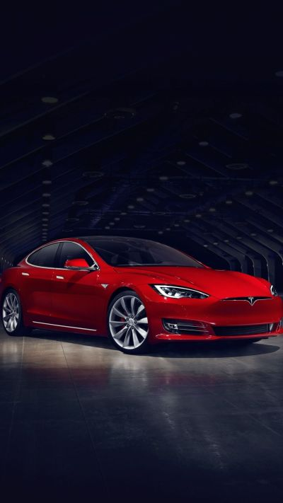 2016 Red Tesla Model S No Grill #iPhone #6 #wallpaper | iPhone 6 Wallpapers | Pinterest | Wallpaper