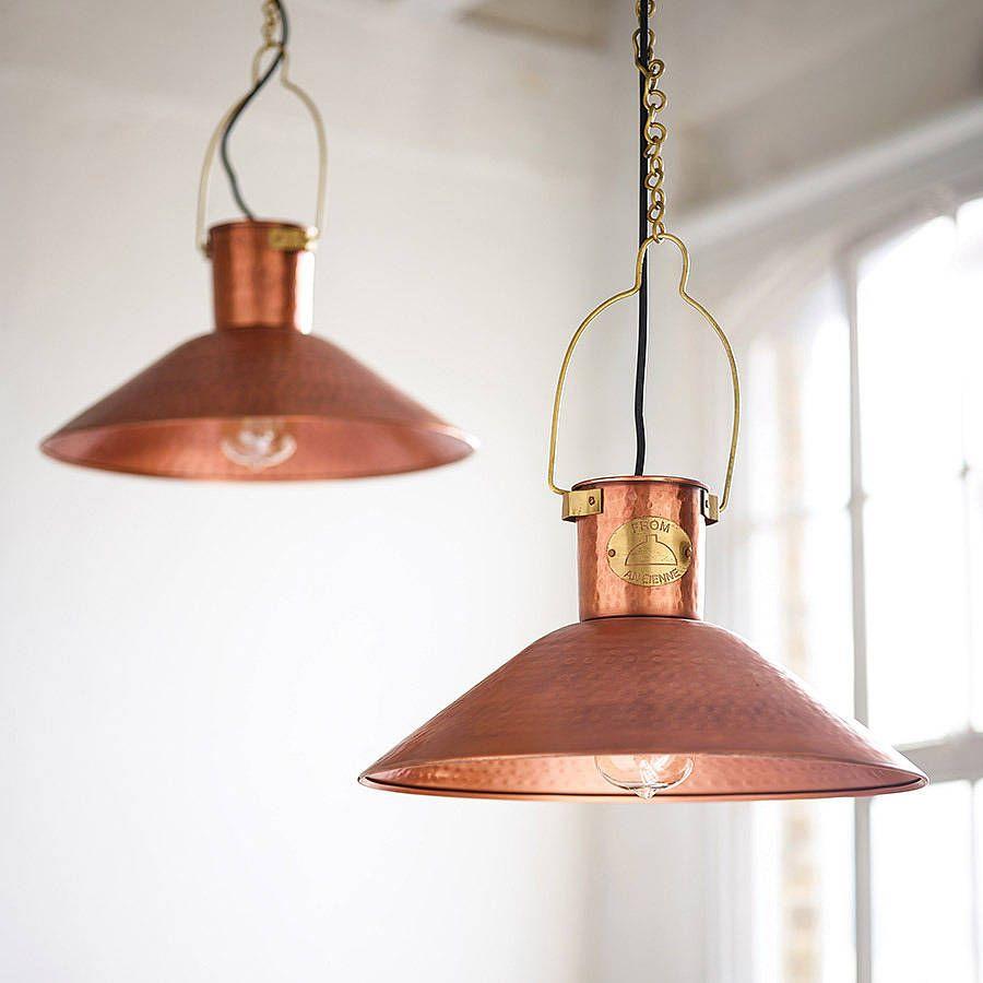 copper pendant light kitchen Copper Ceiling Lights Kitchen Lighting Over TableCopper Pendant