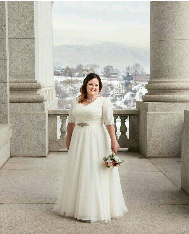 borrow wedding dress Utah Rental wedding dress Modest lace lds wedding dress affordable wedding dress