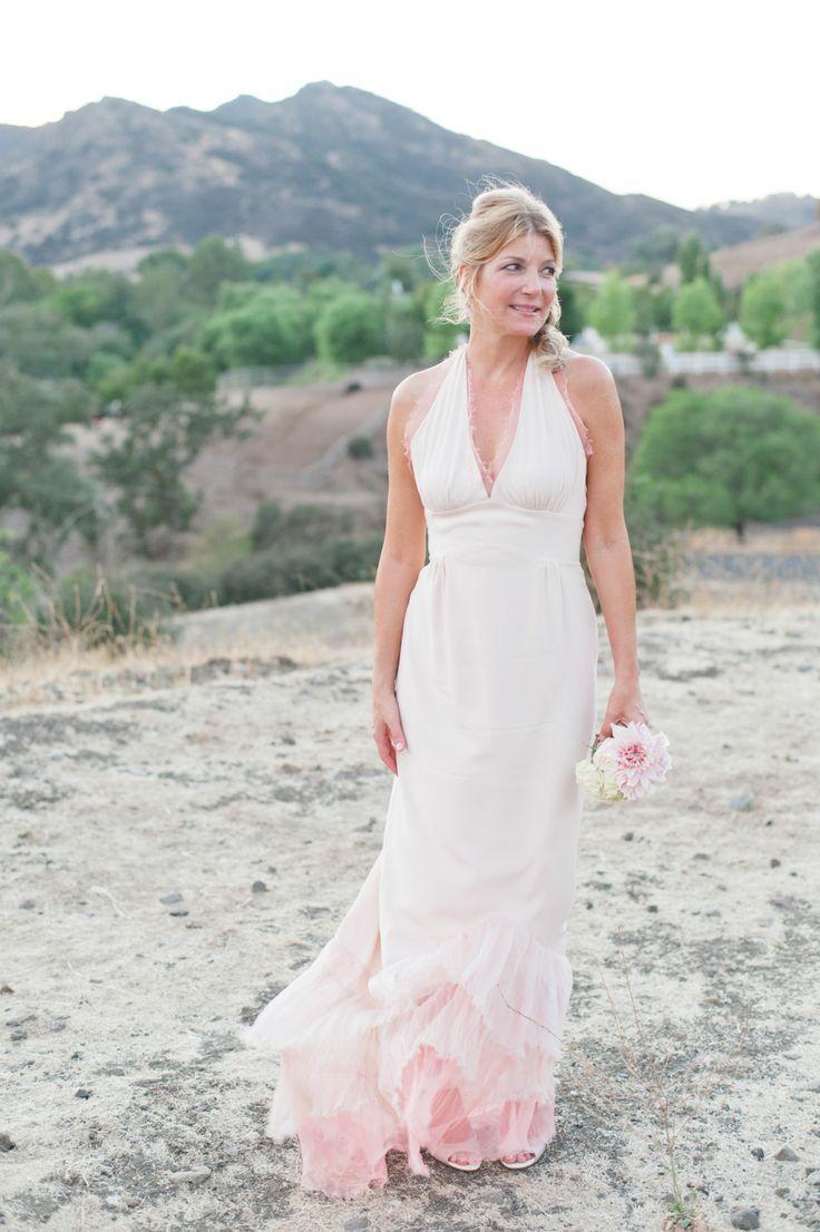 pink ombre wedding dress ombre wedding dress
