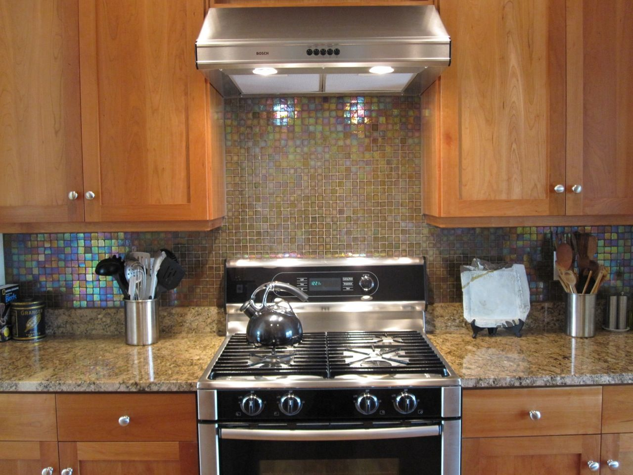 granite countertops with glass tile backsplash glass kitchen countertops Top 25 Ideas About Kitchen Tile On Pinterest Backsplash
