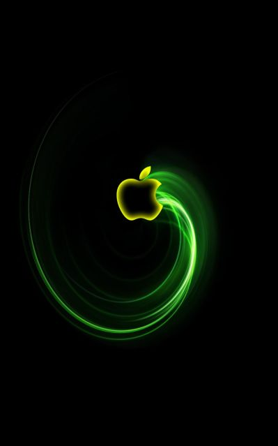 Cool logo - have to come up with something different from the apple, but like the 'swish' coming ...