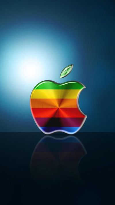 Apple Wallpapers For iPhone 6 Plus 388 | Big Apples! | Pinterest | Apple wallpaper, Apples and ...