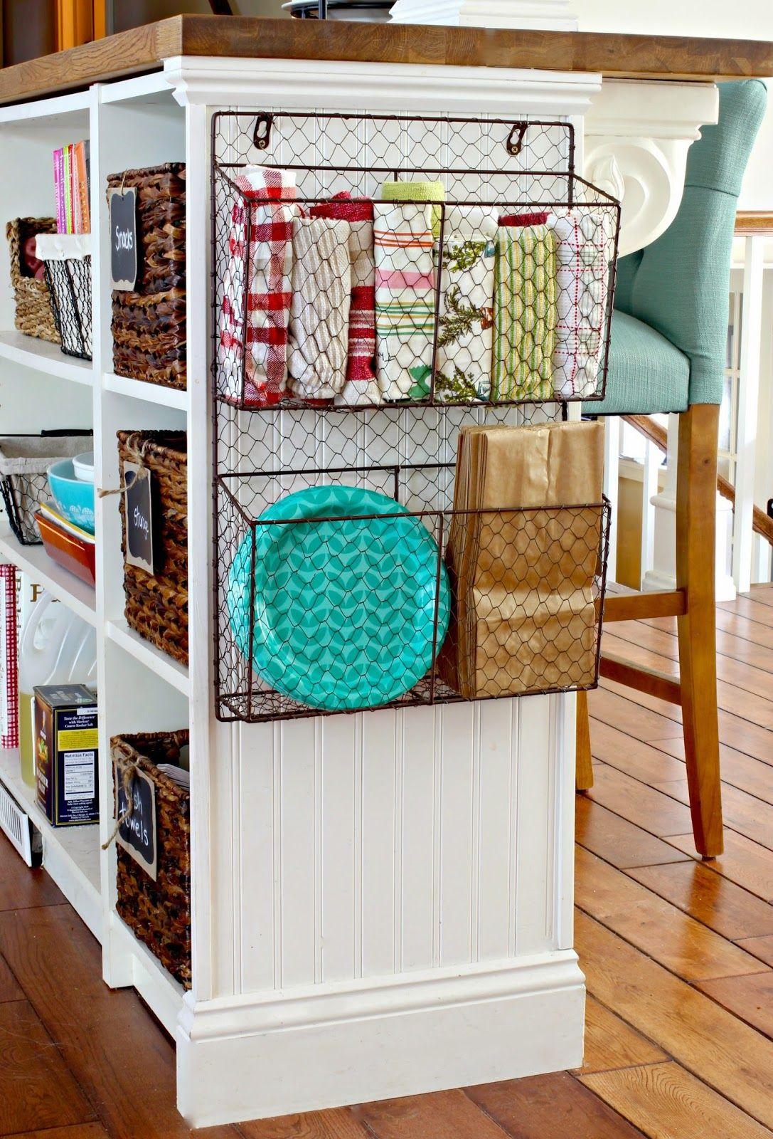 diy kitchen ideas Golden Boys and Me Mail Storage IdeasKitchen