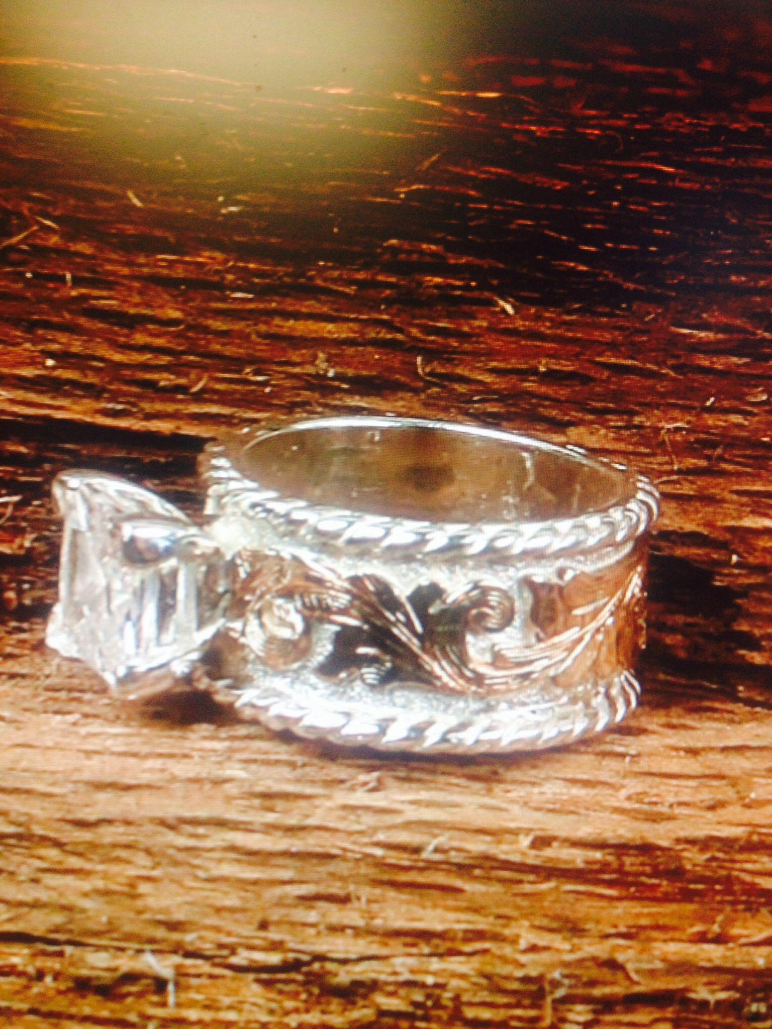 western wedding rings Western wedding ring Fanning Jewelry