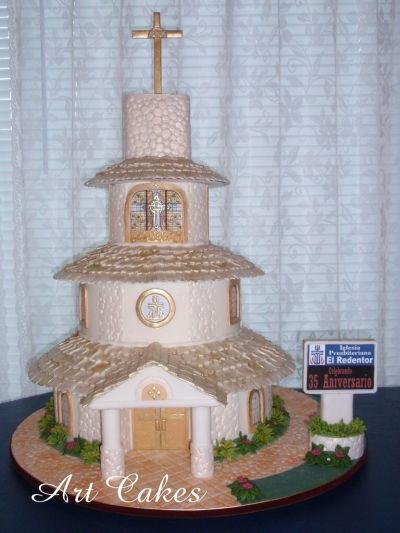 CHURCH Anniversary Cake | My Cakes | Pinterest