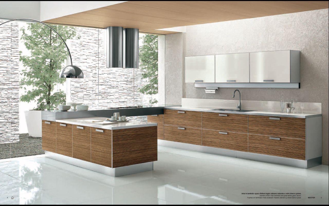 modern kitchen designs Designs from Berloni Master Club Modern Kitchen Interior