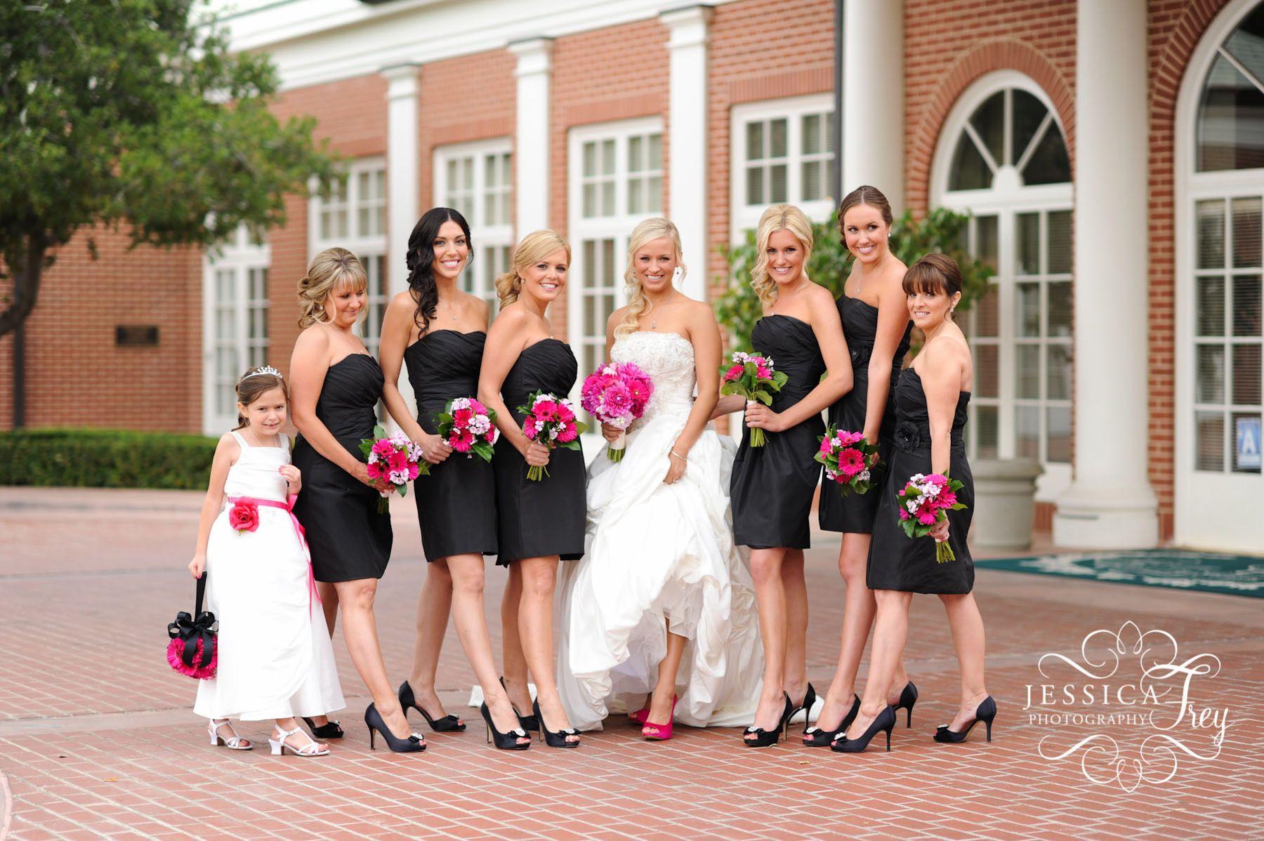 black wedding dresses Bridesmaid Love the black dresses