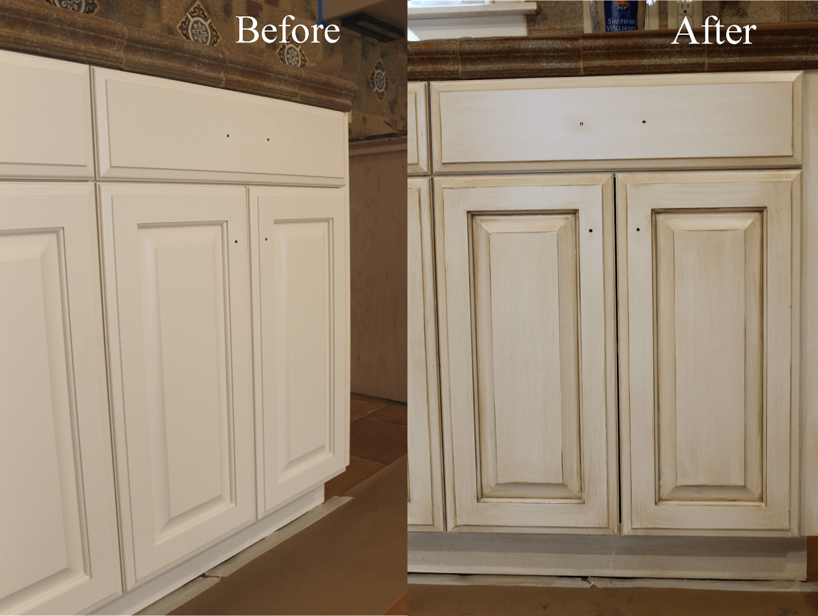 basic kitchen cabinets A complete how to guide from a professional A faux finisher shows you how to glaze cabinets like a pro Start with your basic white cabinets