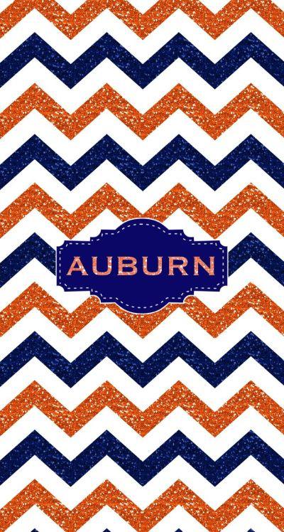War Eagle Auburn Glitter Monogram wallpaper. Made with @MonogramApp | Monograms | Pinterest ...