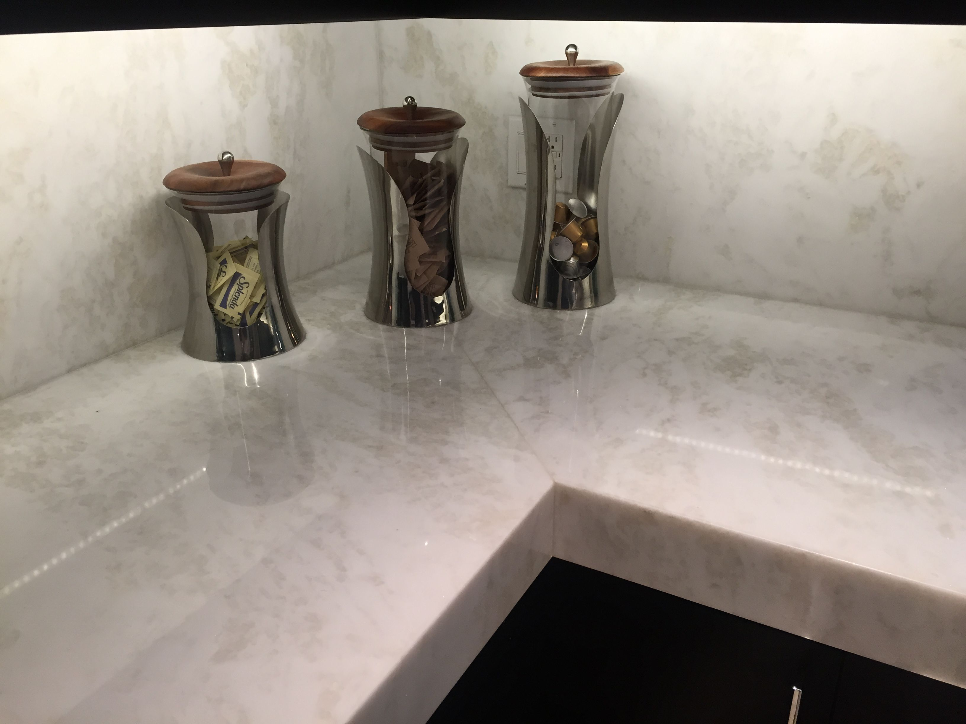 our residential projects marble kitchen countertops Mystery White Marble Slab Kitchen Countertop South Miami Kitchen Marmol