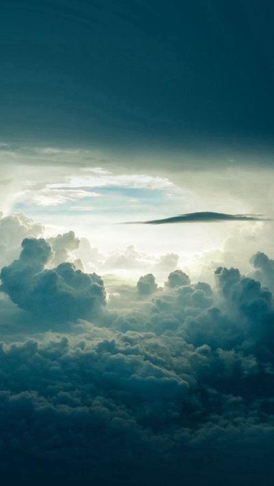 Sky Cloud Blue Nature Summer #iPhone #5s #wallpaper | iPhone SE Wallpapers | Pinterest | Iphone ...