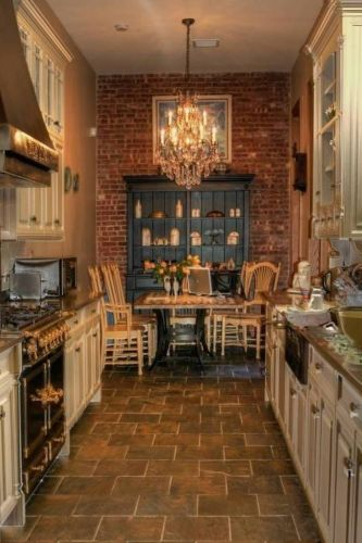 galley kitchen remodel ideas LOVE this kitchen Rustic Design Galley Kitchen Floor Plans Floor Ideas for Galley Kitchen