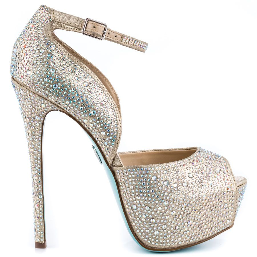 betsey johnson wedding shoes Add the perfect accessory to your big day with the Kiss from Blue by Betsey Johnson
