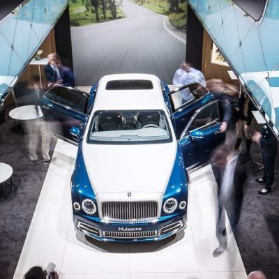"Bentley Motors Official (@bentleymotors) on Instagram: ""The #Mulsanne Hallmark Series by # ..."