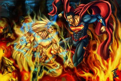 Goku Vs. Superman Who would win? | DC/MARVEL | Pinterest | Hd wallpaper, Dr. who and Goku
