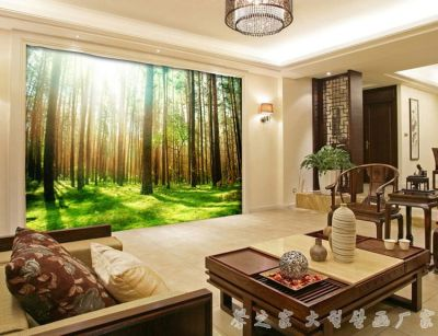 Best 3D three dimensional living room wallpaper ideas and designs 2016 | wall covering ...