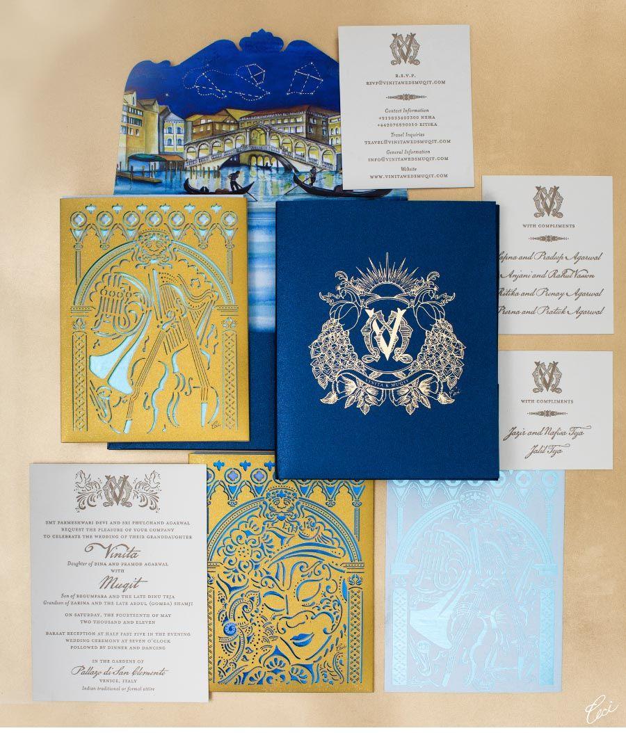 wedding invitations printing Be inspired by Vinita Muqits elaborate Indian wedding