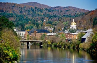 15 Picturesque New England Towns for Your Next Road Trip | Ice cream factory