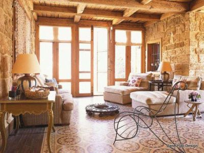 Rustic Style home in Lebanon featured in World of Interior ...