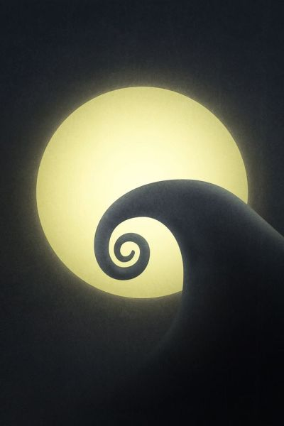 iPhone Wallpaper from my favorite movie ever. Nightmare Before Christmas :)   iPhone / iPad ...