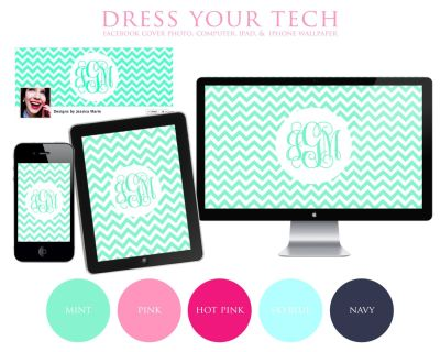 chevron laptop wallpaper | Chevron & Monogram iPhone/iPad/Computer Wallpapers and Facebook Cover ...