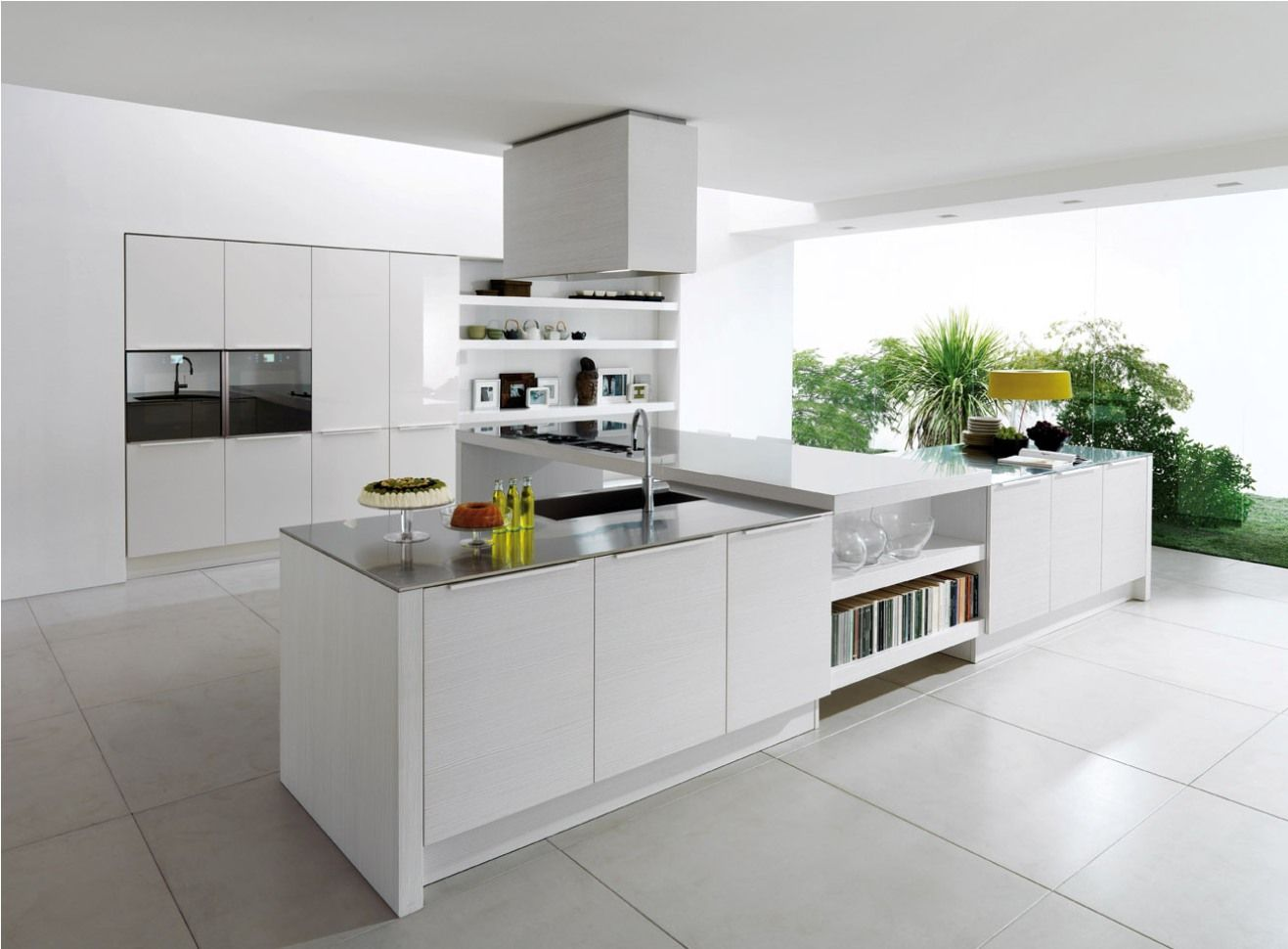 modern white kitchen design white kitchen ideas Modern White Kitchen Design