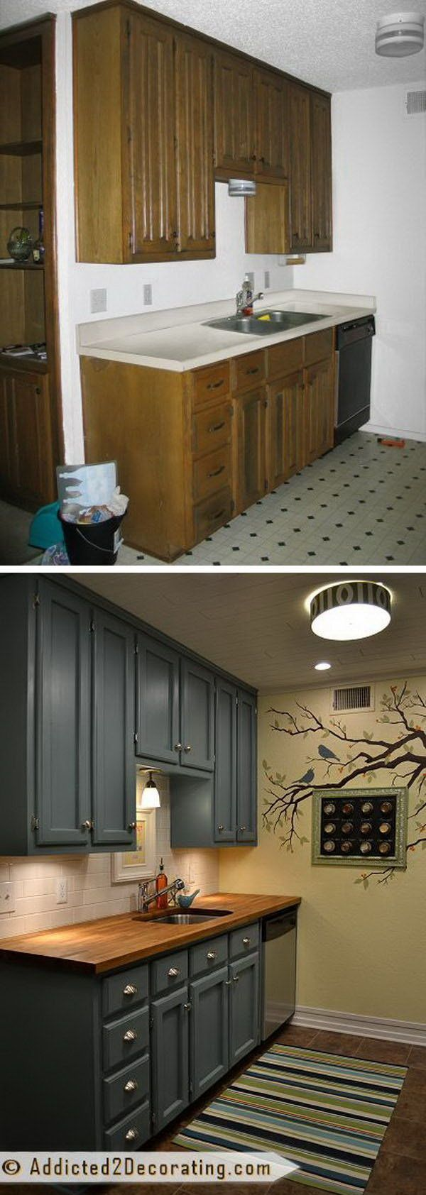 budget kitchen remodel Before and After 25 Budget Friendly Kitchen Makeover Ideas