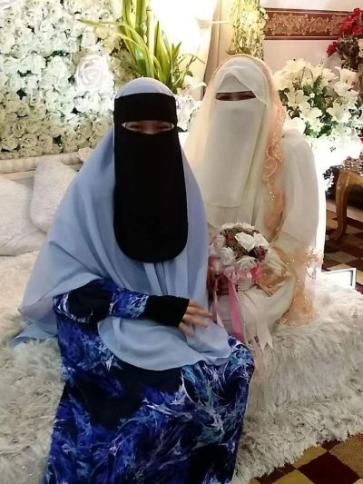 Niqab bride | Niqab wedding | Pinterest | Niqab and Brides