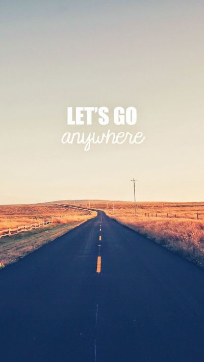 Go Anywhere Road #iPhone #6 #plus #wallpaper | iPhone 6 Wallpapers | Pinterest | Wallpapers ...