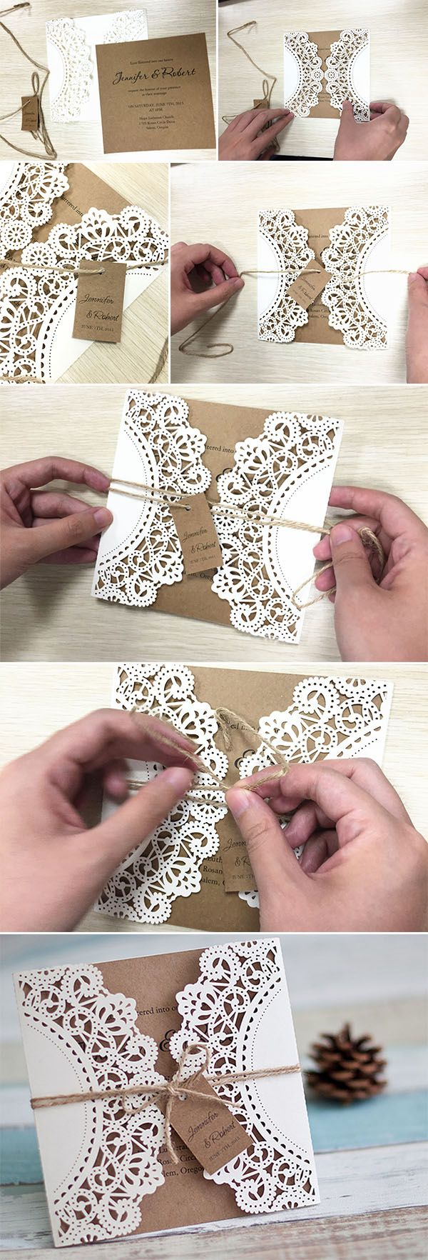 country wedding invitations DIY Wedding Ideas 10 Perfect Ways to Use Paper for Weddings