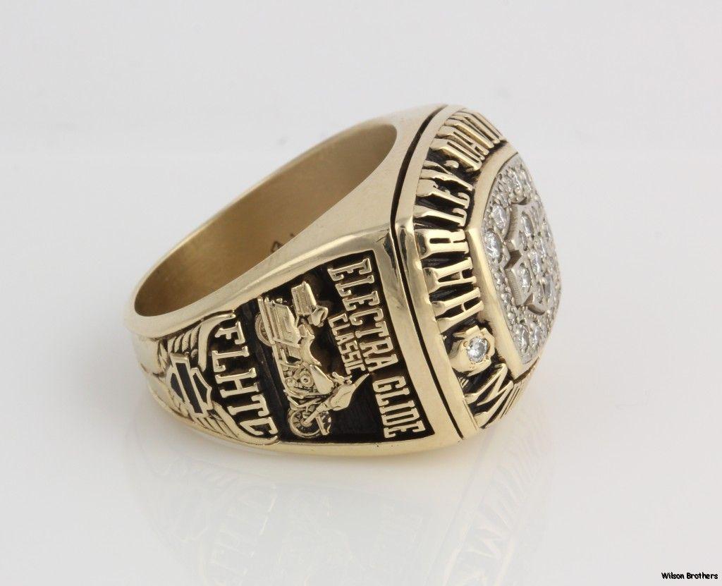 harley davidson wedding rings harley davidson wedding rings Harley Davidson Motorcycles 61ctw Genuine Diamond Ring 10K Gold Solid