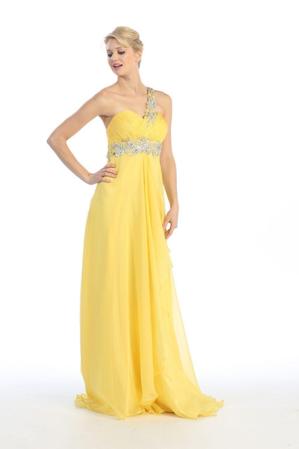 yellow wedding dress Yellow bridesmaid dresses 2