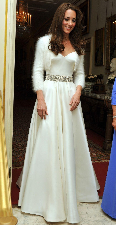 wedding dresses second wedding Kate middleton second wedding dress