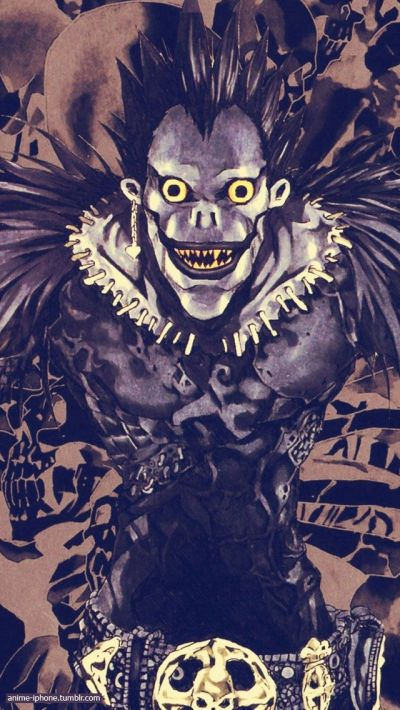 Death Note ryuk iPhone Wallpaper | Anime iPhone Wallpapers | Pinterest | iPhone 5s, iPhone y ...