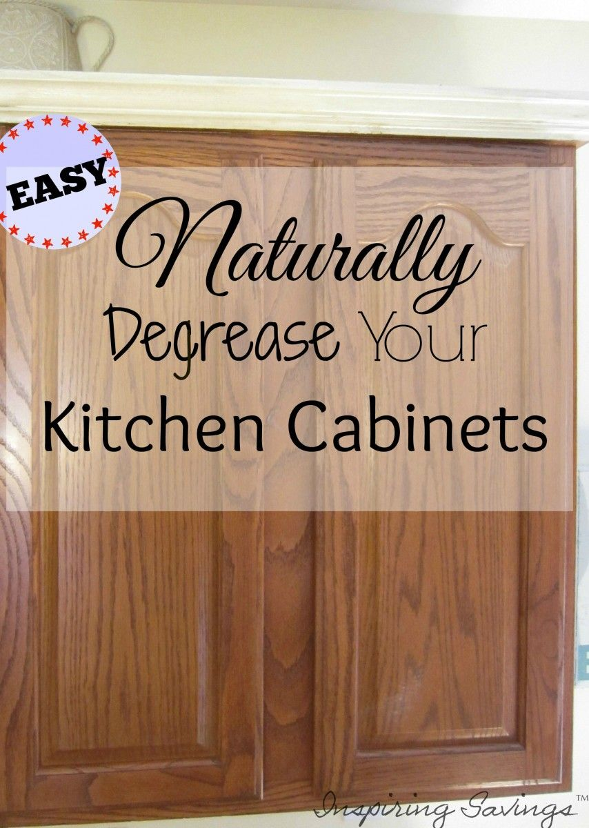 cleaning kitchen cabinets How Degrease Your Kitchen Cabinets All Naturally