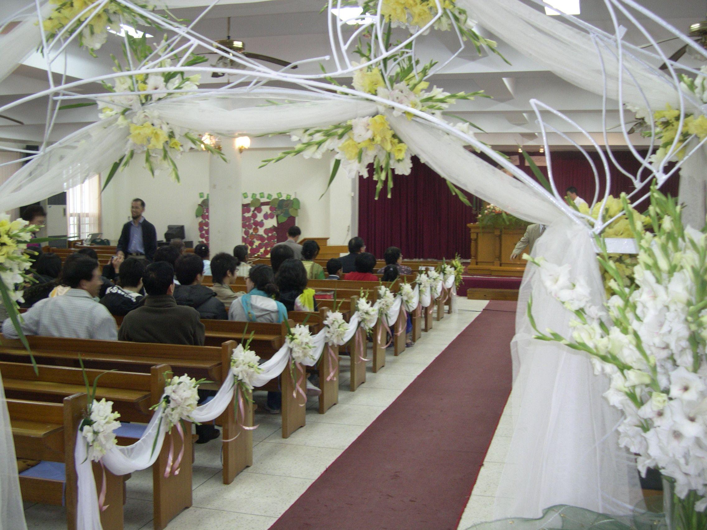 church items ideas cheap wedding decorations things to mark pews at weddings Church Pews Wedding Decorations Wedding Decorations