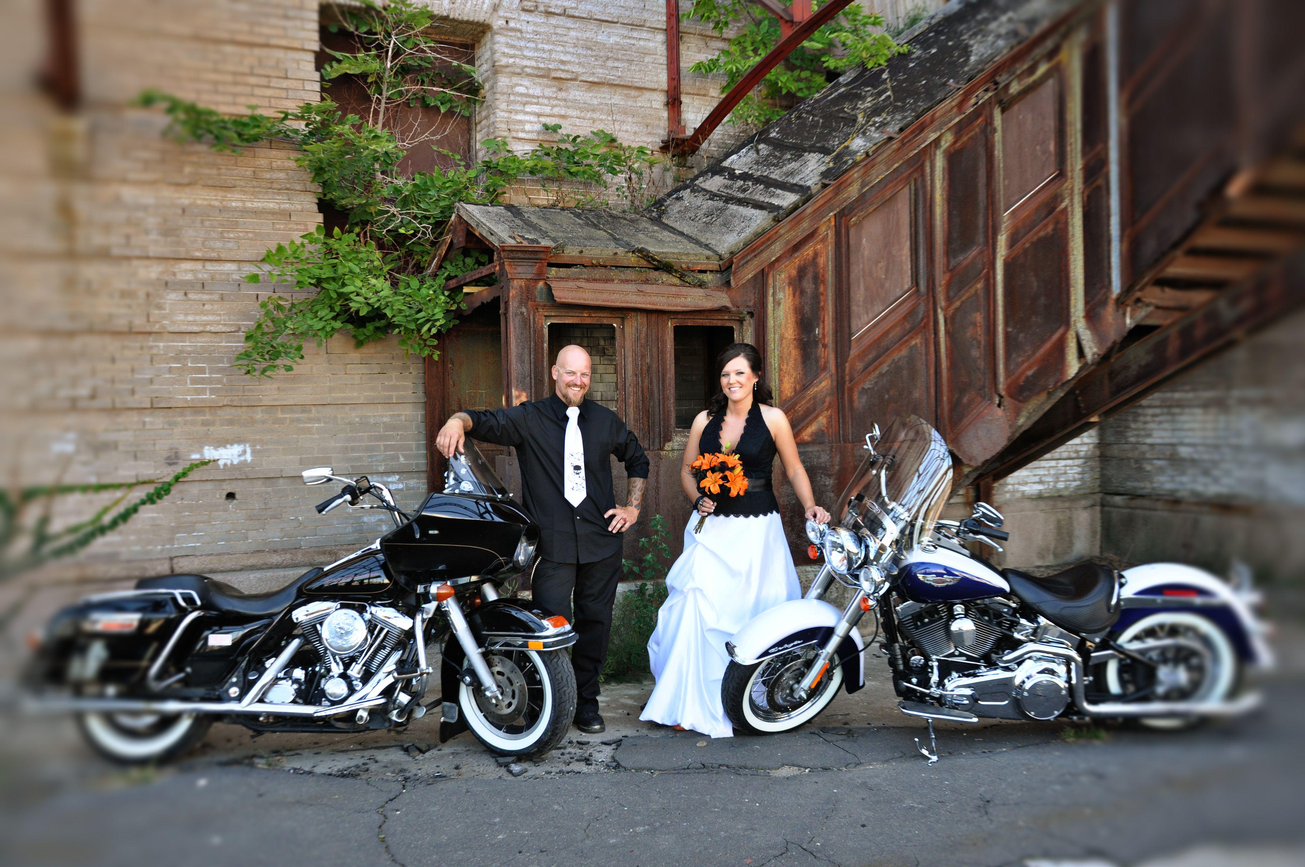 harley davidson wedding dresses harley davidson wedding Our Harley Davidson Wedding Part 1 Harleys and Heels