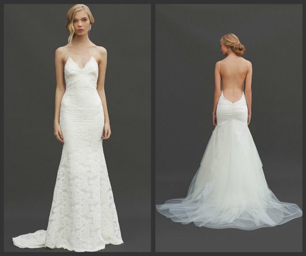 low back wedding dress 37 Jaw Dropping Low Back Wedding Dresses Weddingomania